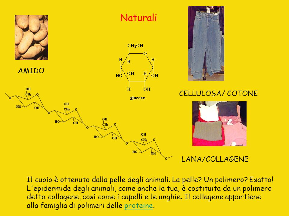 Naturali AMIDO CELLULOSA/ COTONE LANA/COLLAGENE