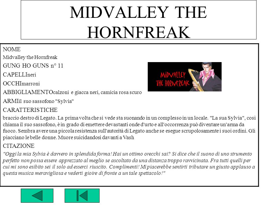 MIDVALLEY THE HORNFREAK