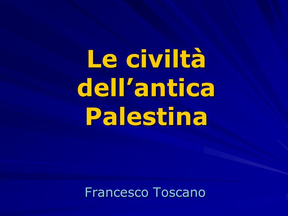 Le civiltà dell'antica Palestina