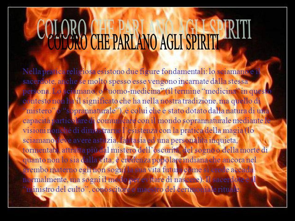COLORO CHE PARLANO AGLI SPIRITI