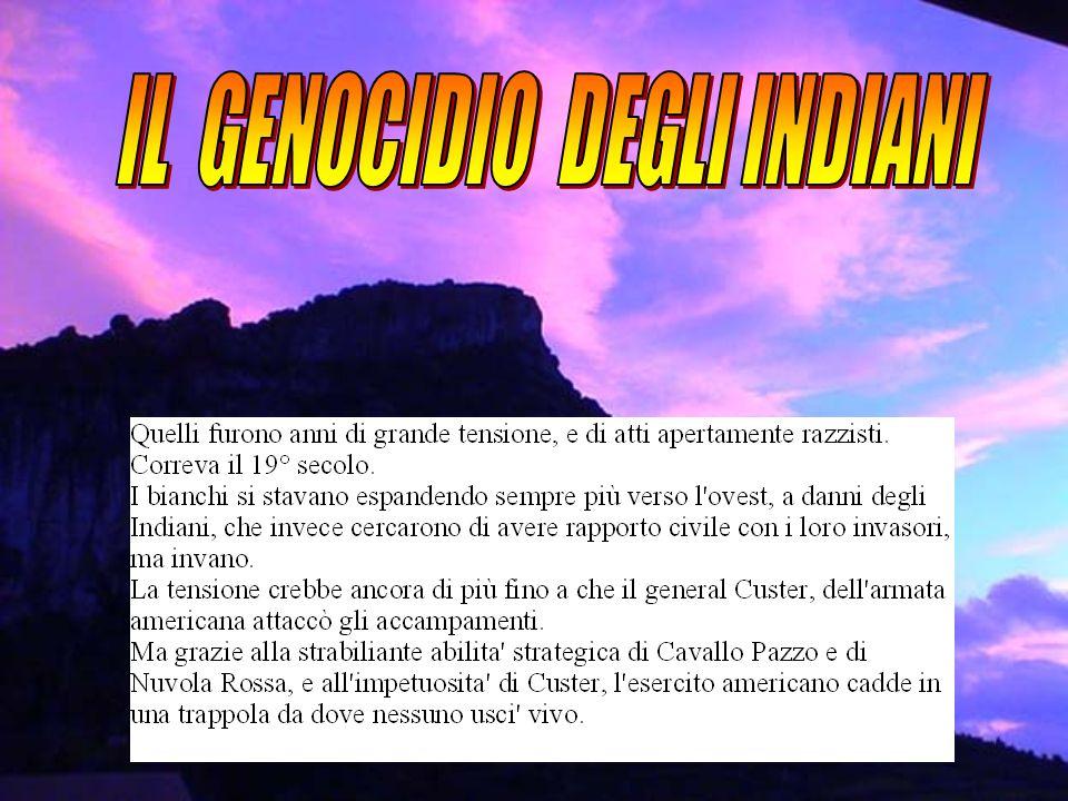 IL GENOCIDIO DEGLI INDIANI