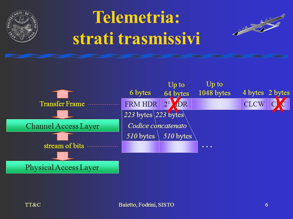 Telemetria: strati trasmissivi