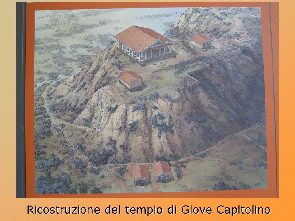 Ricostruzione del tempio di Giove Capitolino