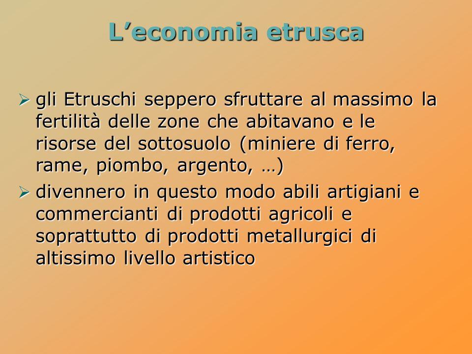 L'economia etrusca