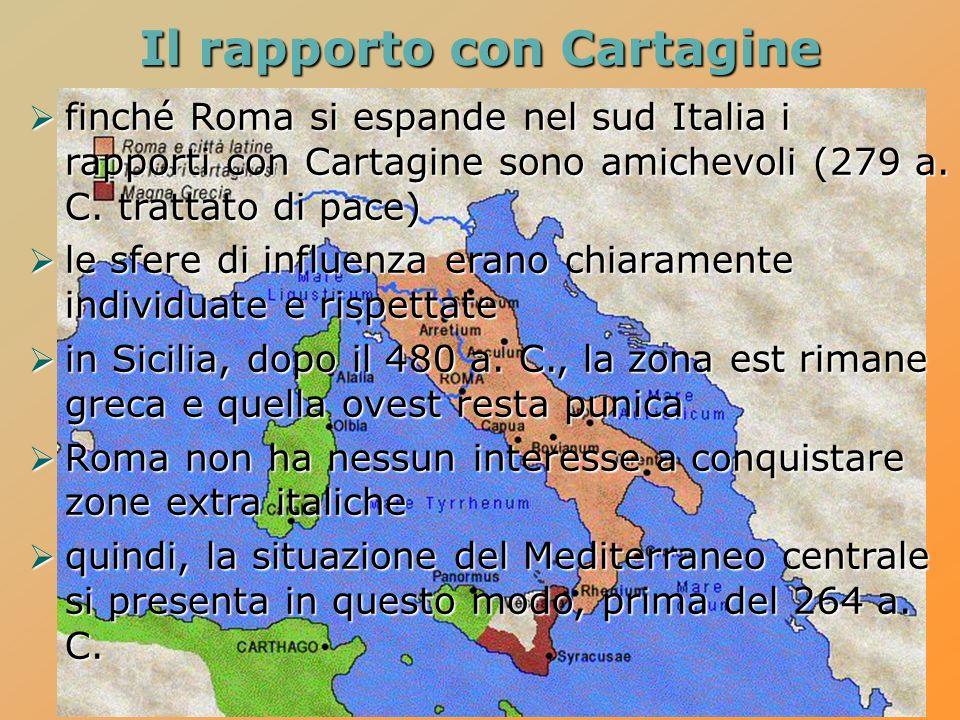 Il rapporto con Cartagine