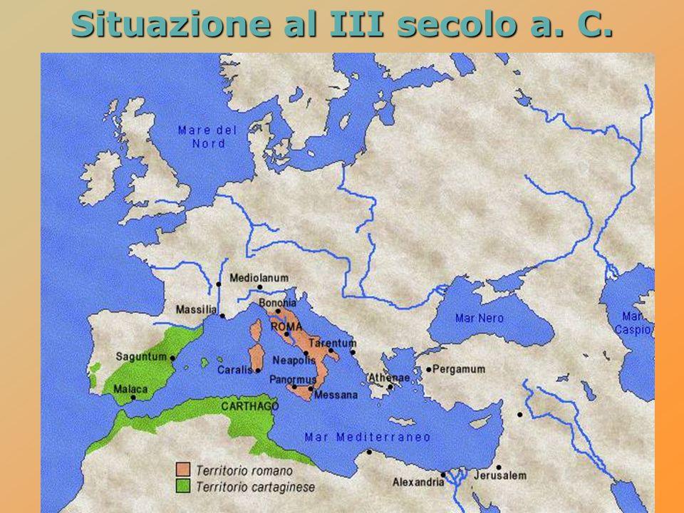 Situazione al III secolo a. C.