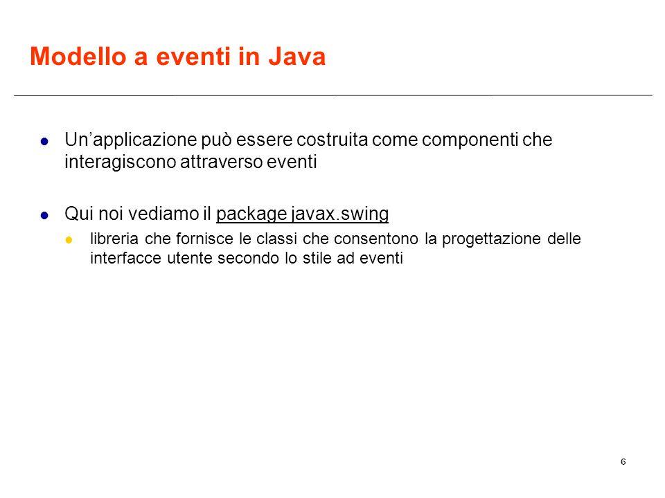 Modello a eventi in Java