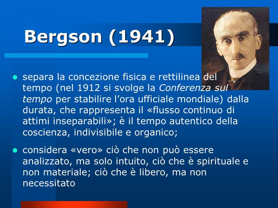 Bergson (1941)