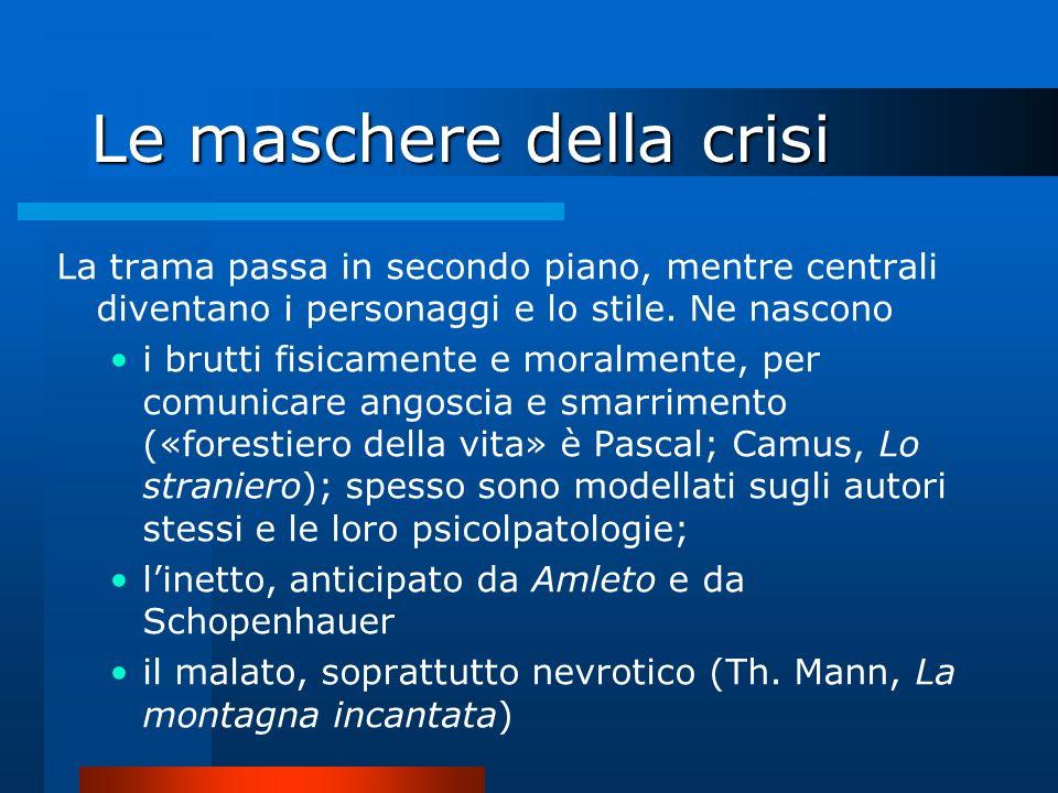 Le maschere della crisi