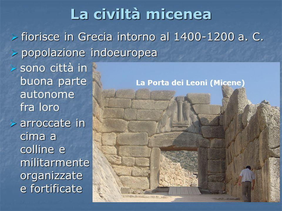 La Porta dei Leoni (Micene)