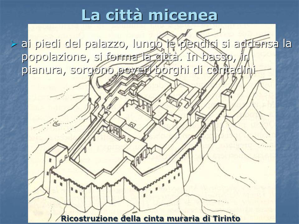 Ricostruzione della cinta muraria di Tirinto
