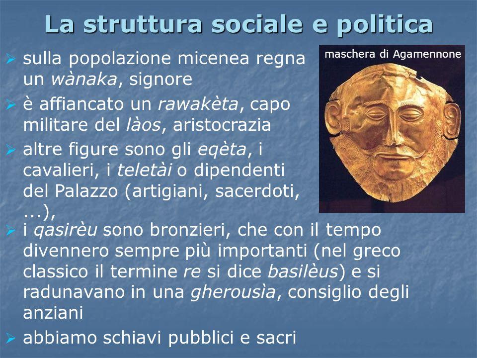 La struttura sociale e politica