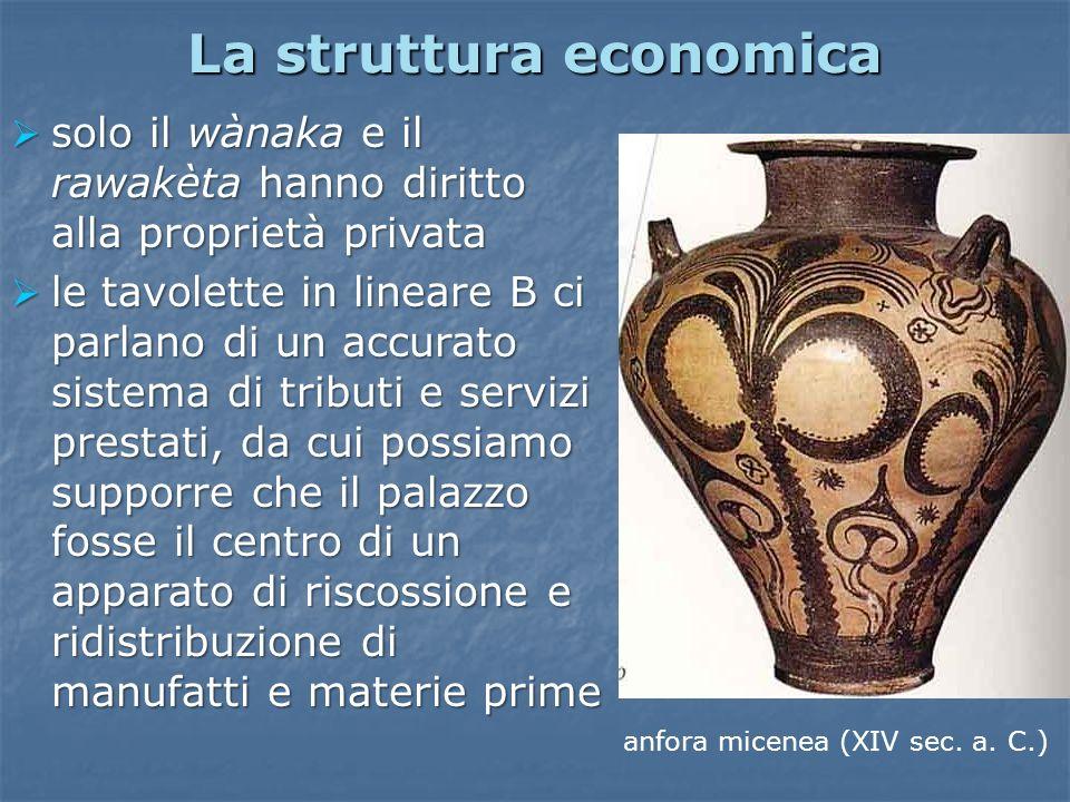 La struttura economica
