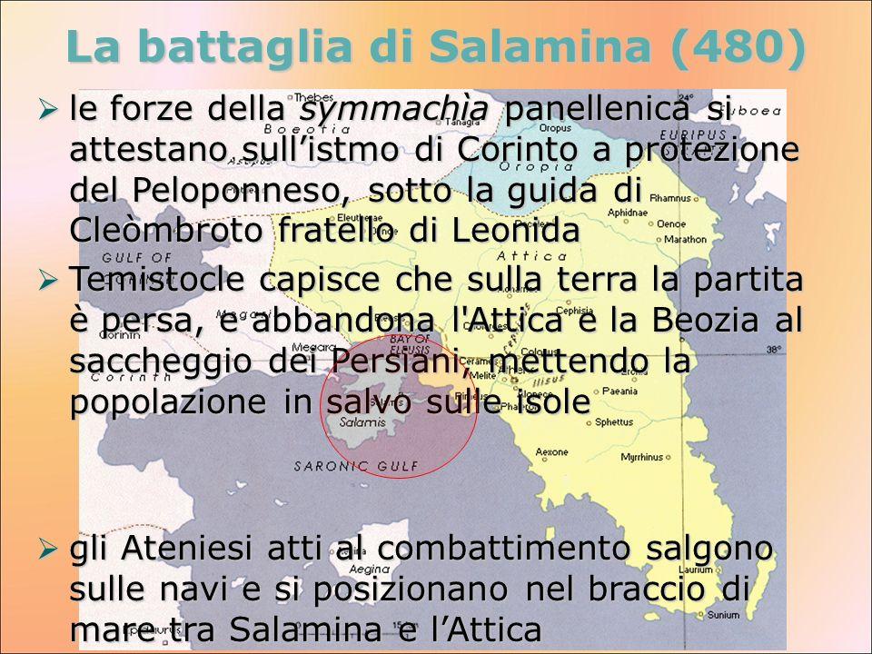 La battaglia di Salamina (480)