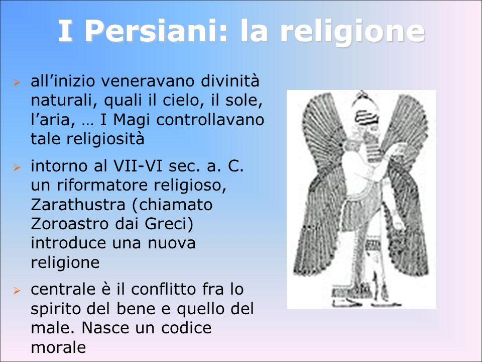 I Persiani: la religione