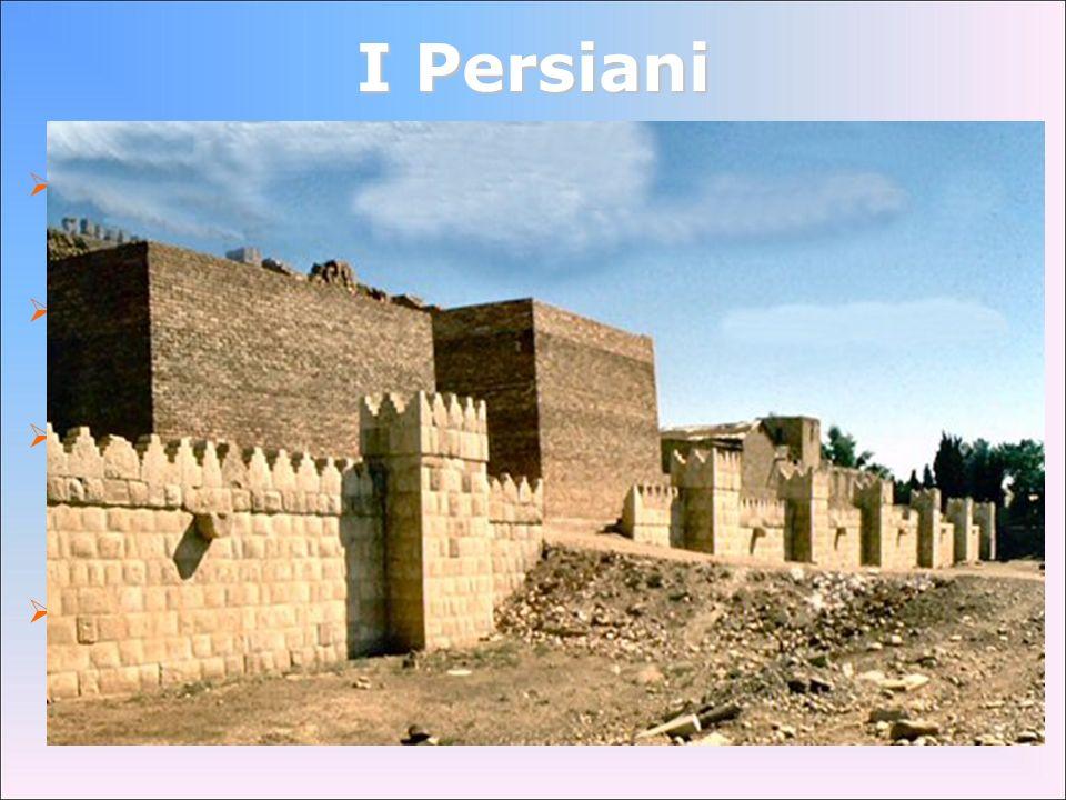 I Persiani la civiltà persiana nacque nell'altopiano iranico, nel cuore dell'Asia. già nel IX secolo combattono contro gli Assiri.