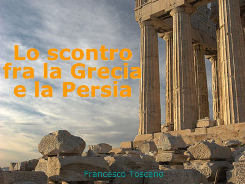 Lo scontro fra la Grecia e la Persia