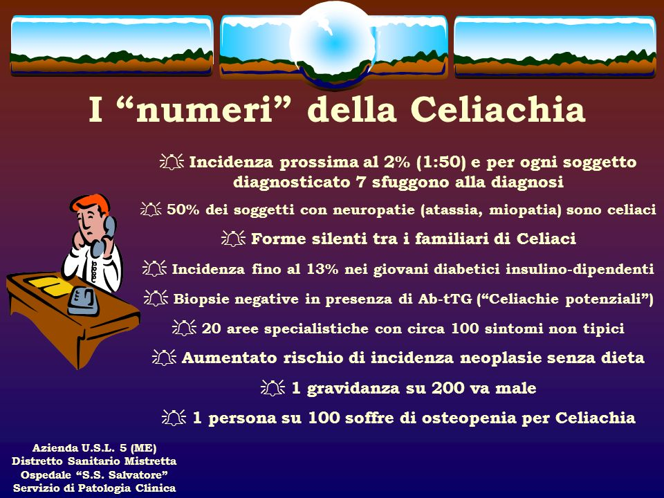 I numeri della Celiachia