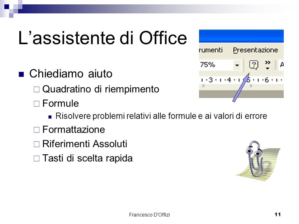 L'assistente di Office