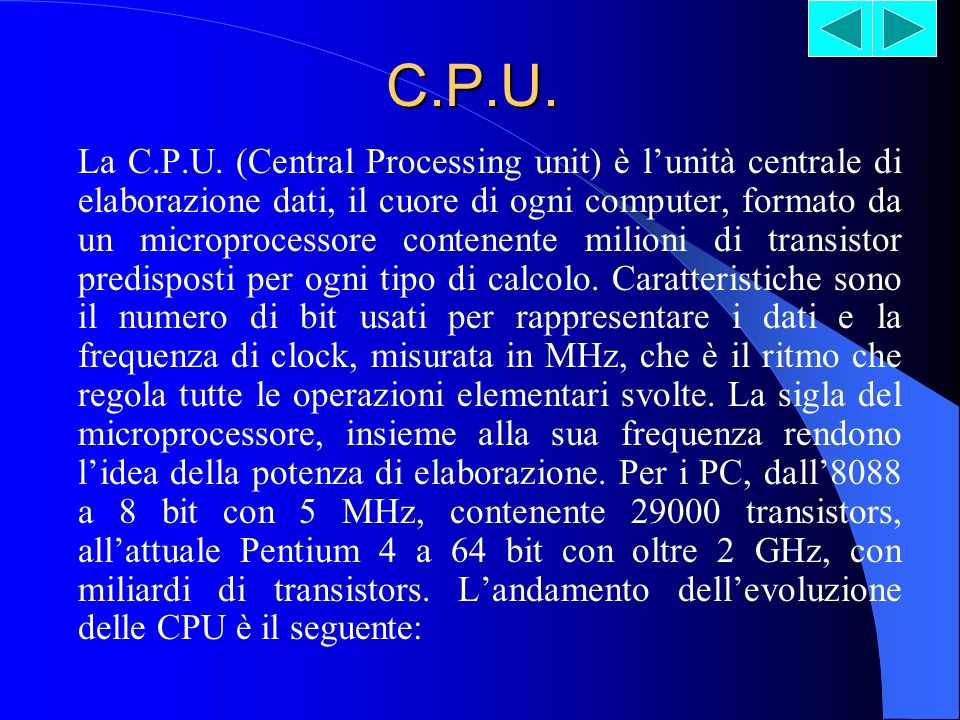 C.P.U.