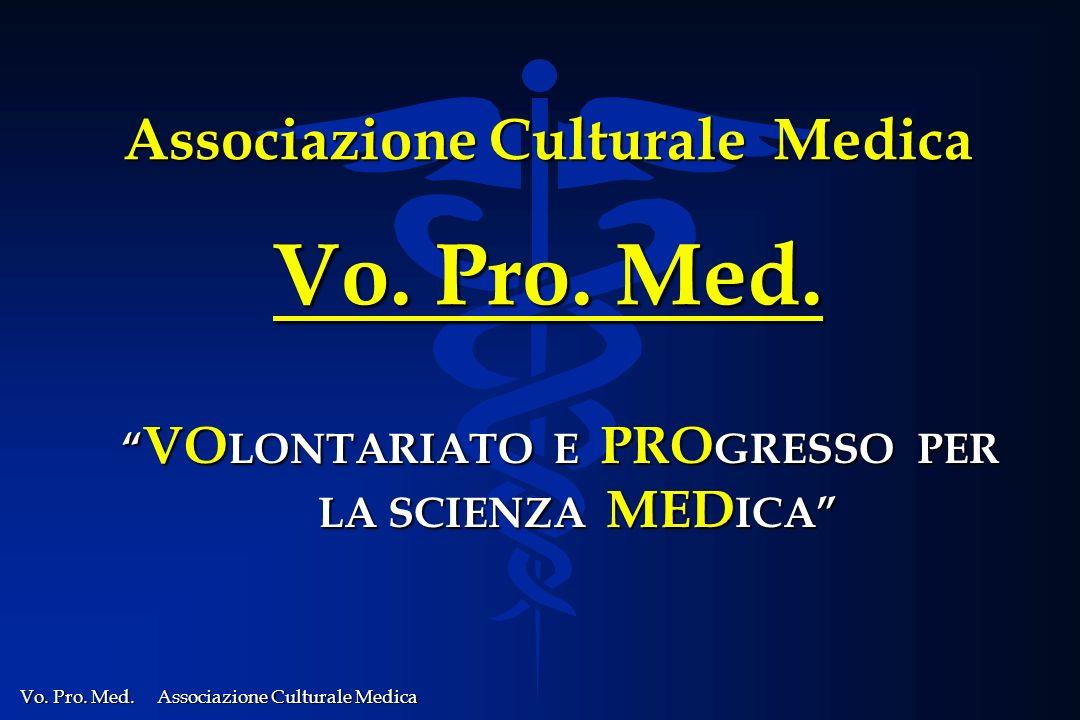 Associazione Culturale Medica Vo. Pro. Med.