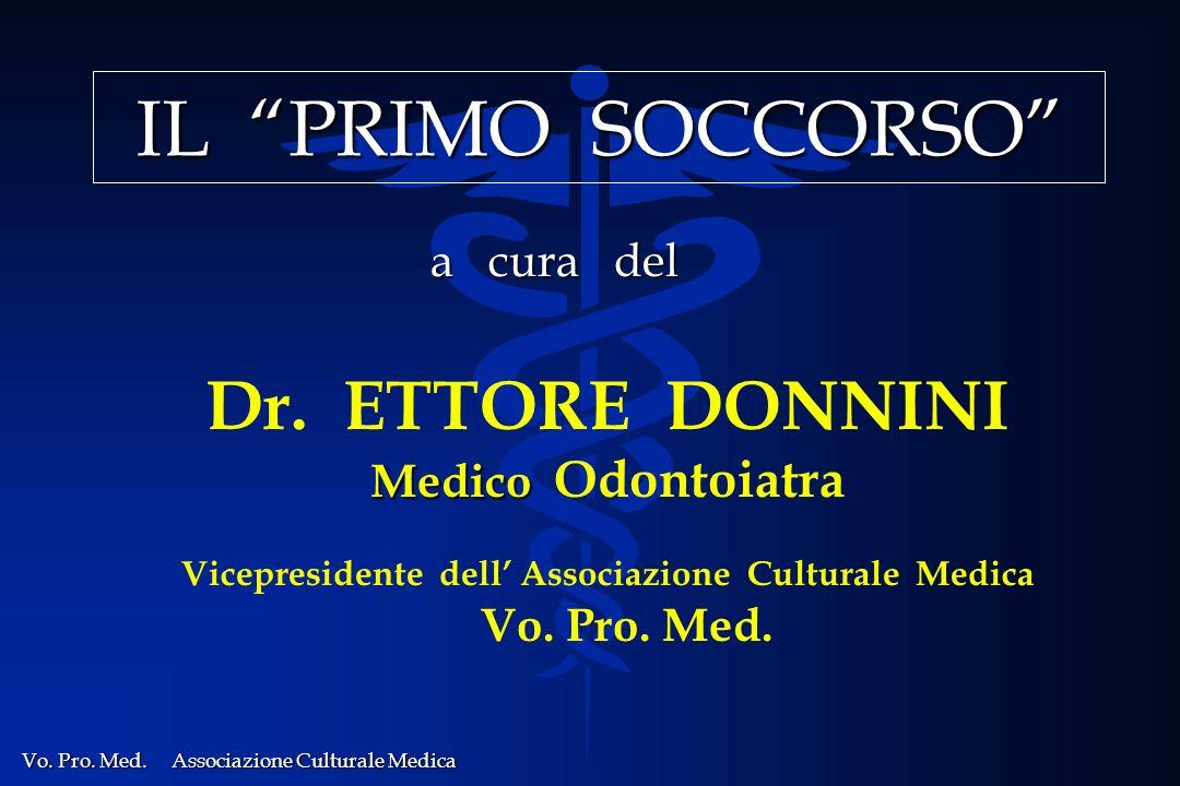 Vicepresidente dell' Associazione Culturale Medica Vo. Pro. Med.