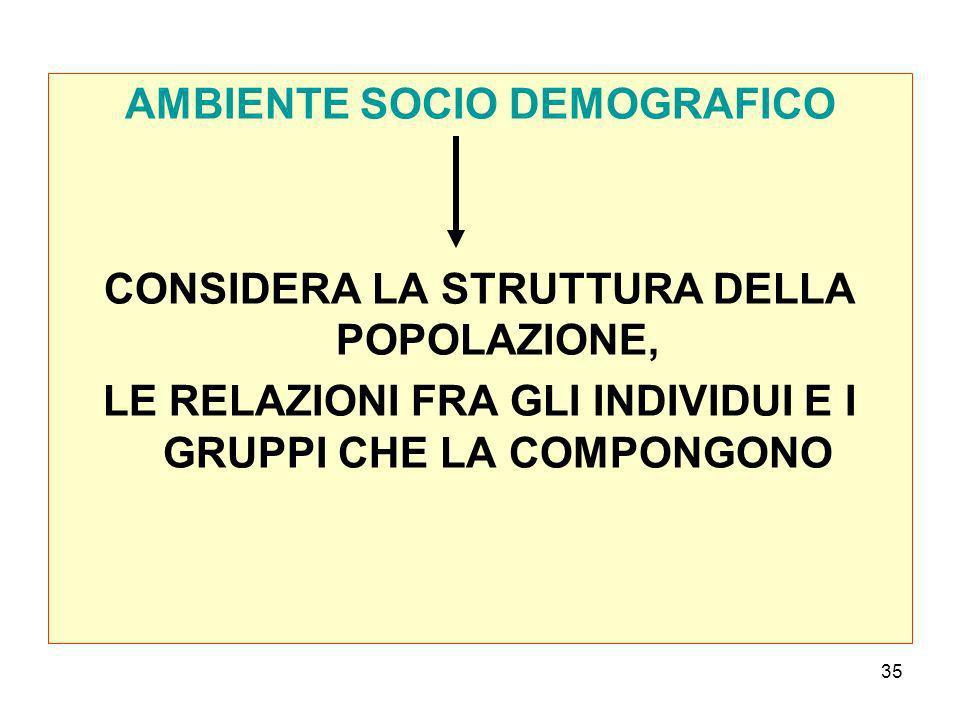 AMBIENTE SOCIO DEMOGRAFICO
