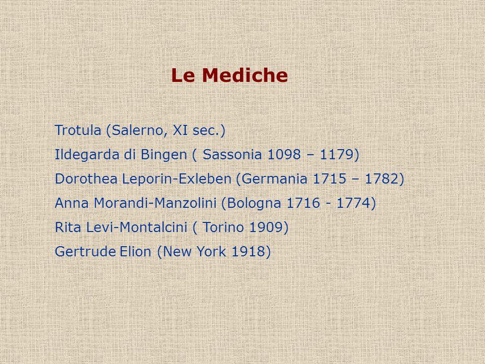 Le Mediche Trotula (Salerno, XI sec.)