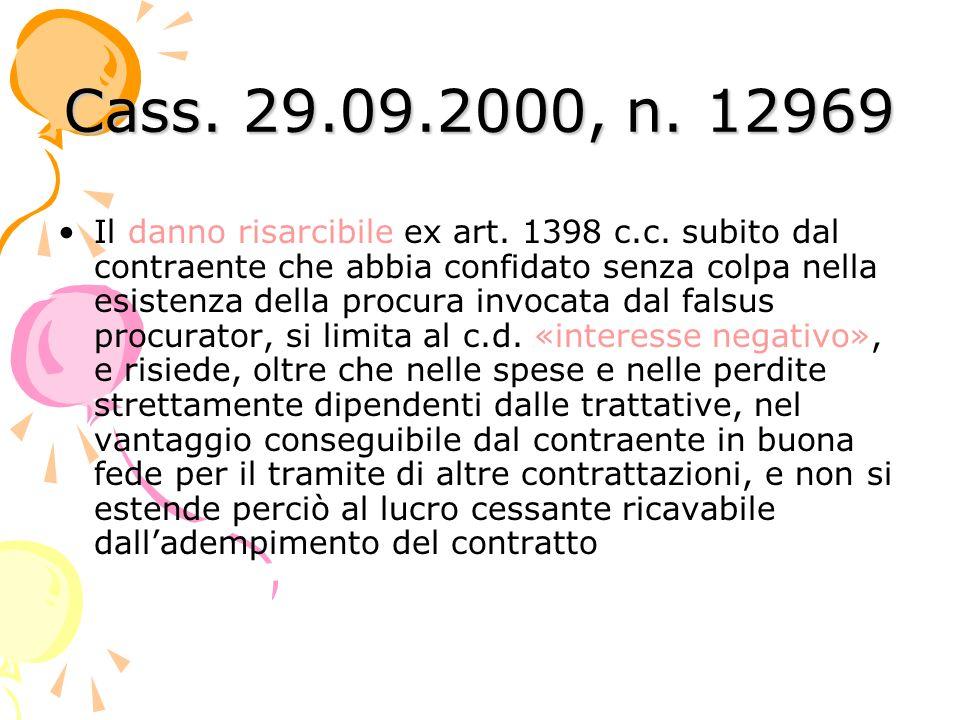 Cass. 29.09.2000, n. 12969