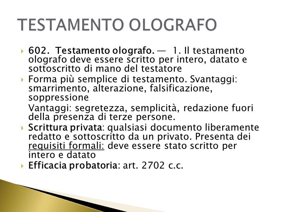 Quota Disponibile Testamento. Excellent Testamento Che Lede La Quota ...