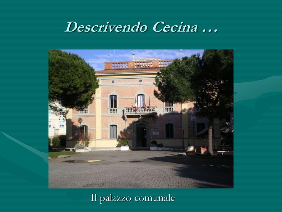 Descrivendo Cecina … Il palazzo comunale