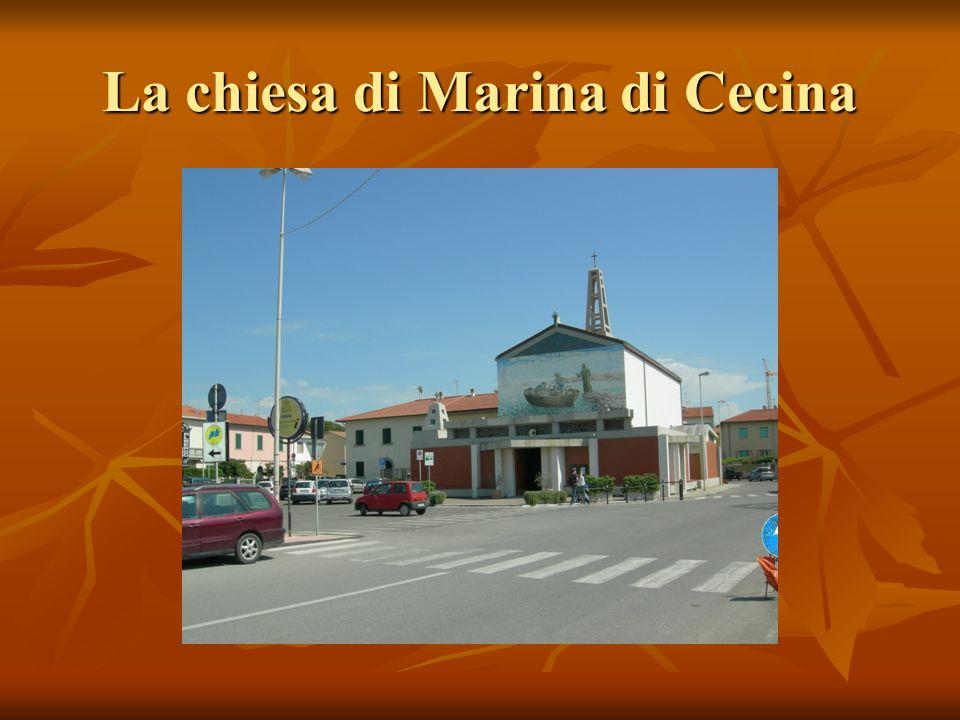 La chiesa di Marina di Cecina
