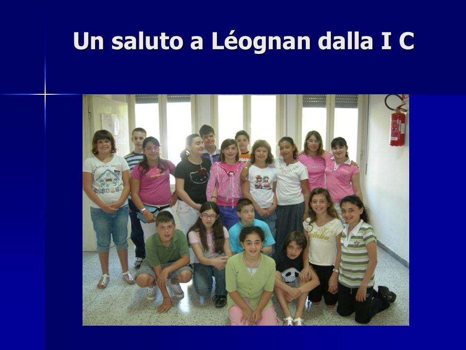 Un saluto a Léognan dalla I C