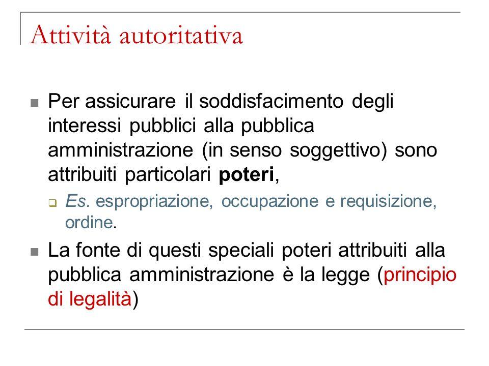 Attività autoritativa