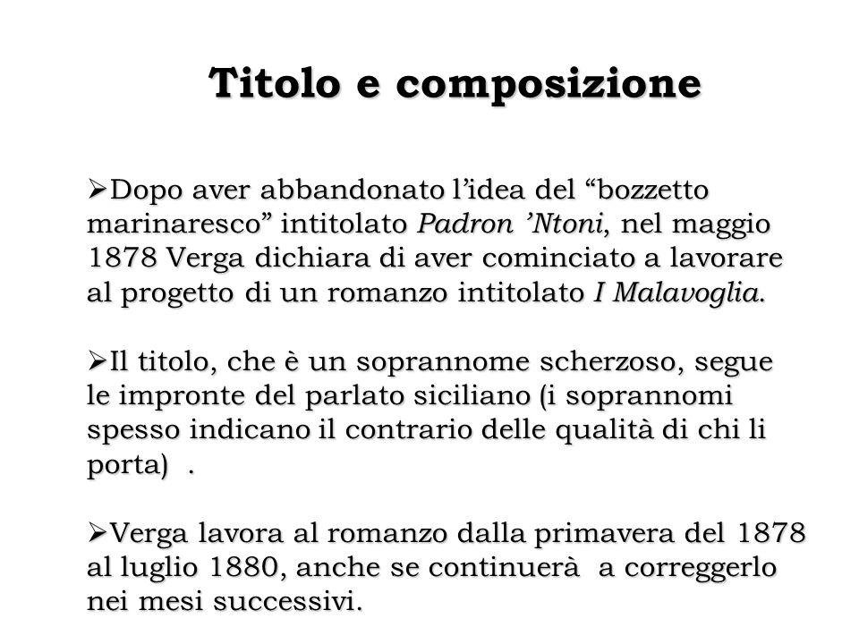 Titolo e composizione