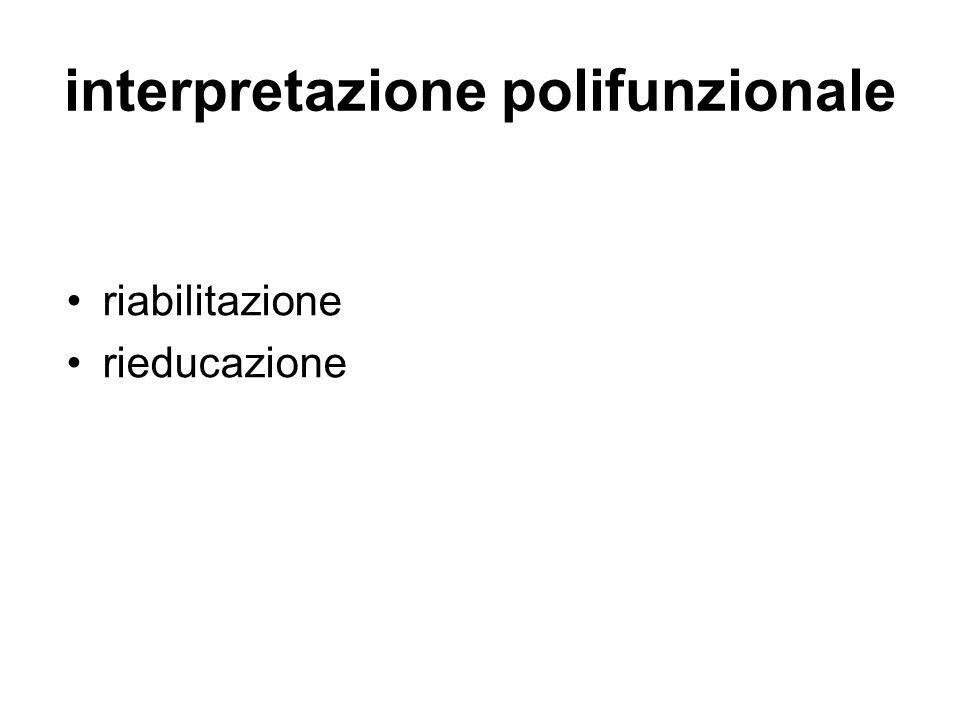interpretazione polifunzionale