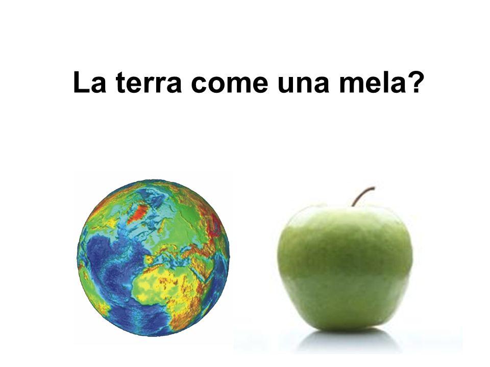 La terra come una mela