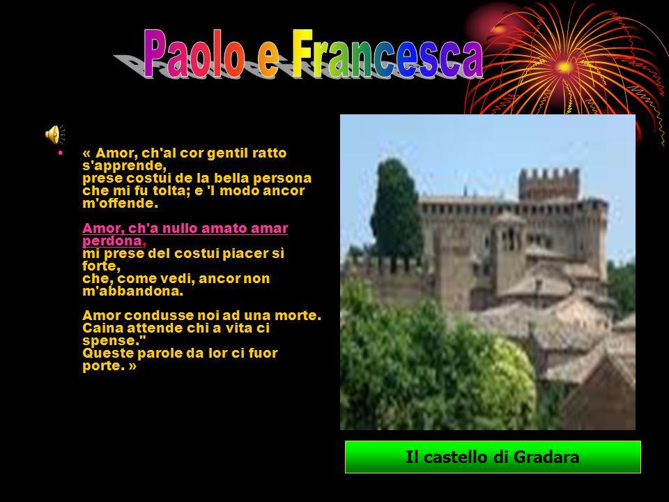 Paolo e Francesca Il castello di Gradara