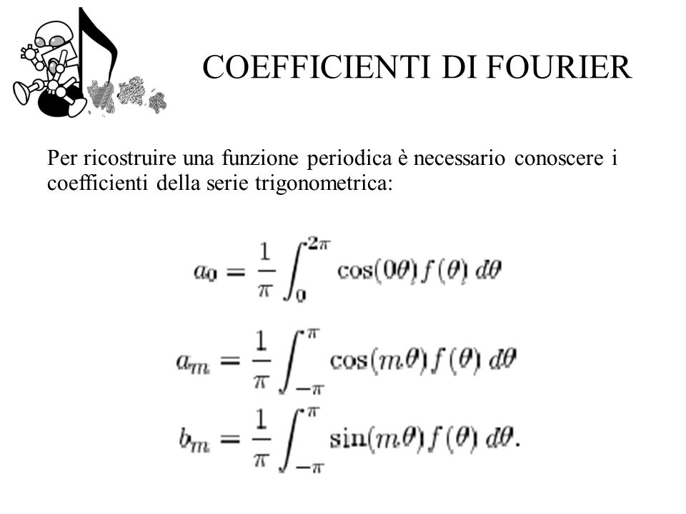 COEFFICIENTI DI FOURIER