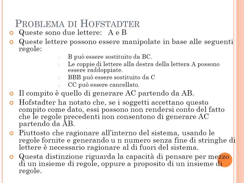 Problema di Hofstadter
