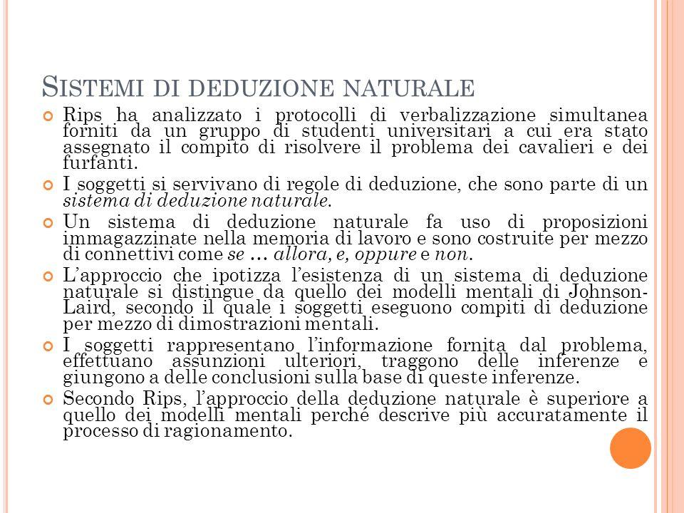 Sistemi di deduzione naturale