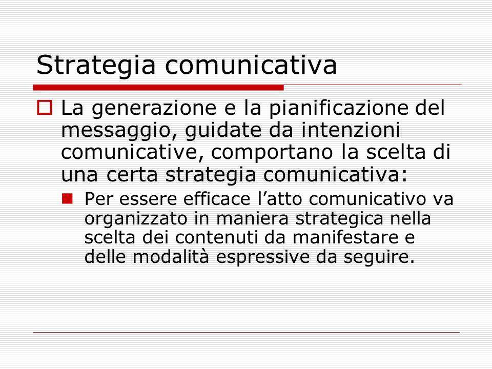 Strategia comunicativa