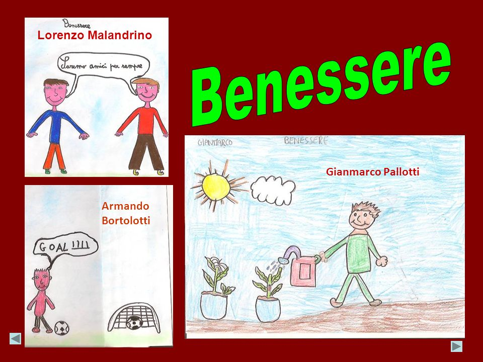 Lorenzo Malandrino Benessere Gianmarco Pallotti Armando Bortolotti