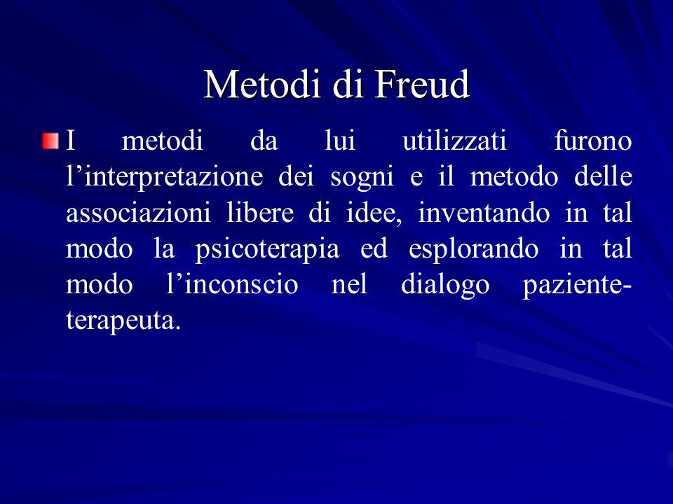 Metodi di Freud