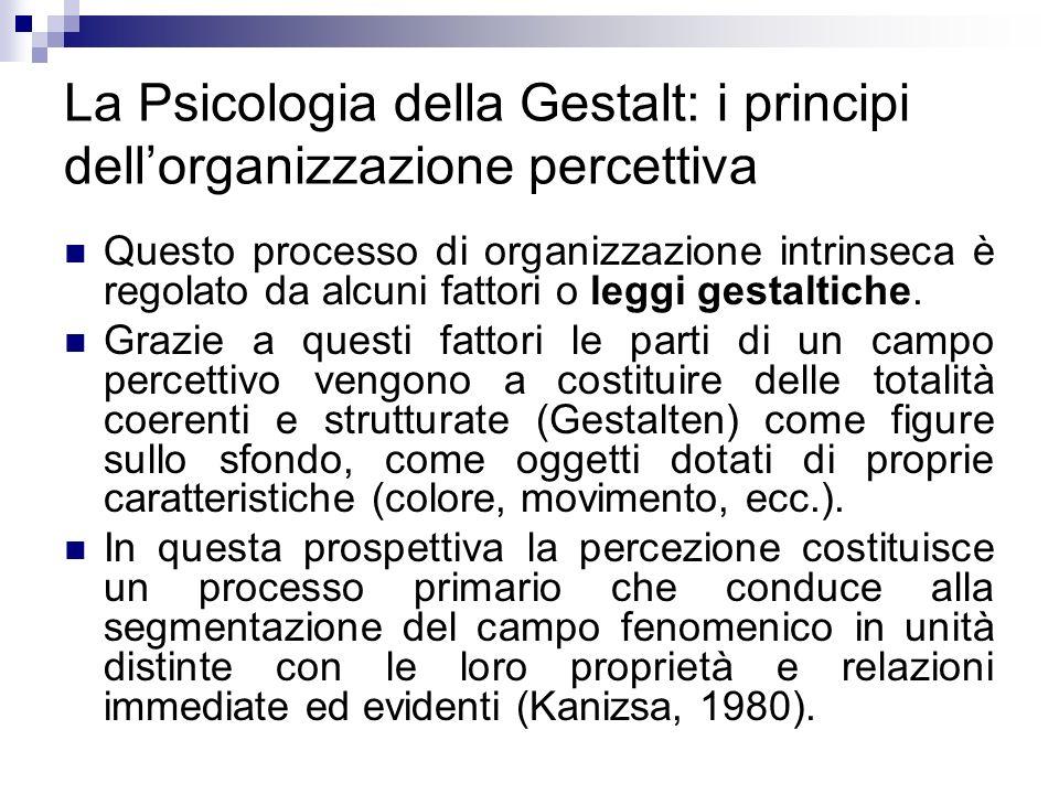 La Psicologia della Gestalt: i principi dell'organizzazione percettiva