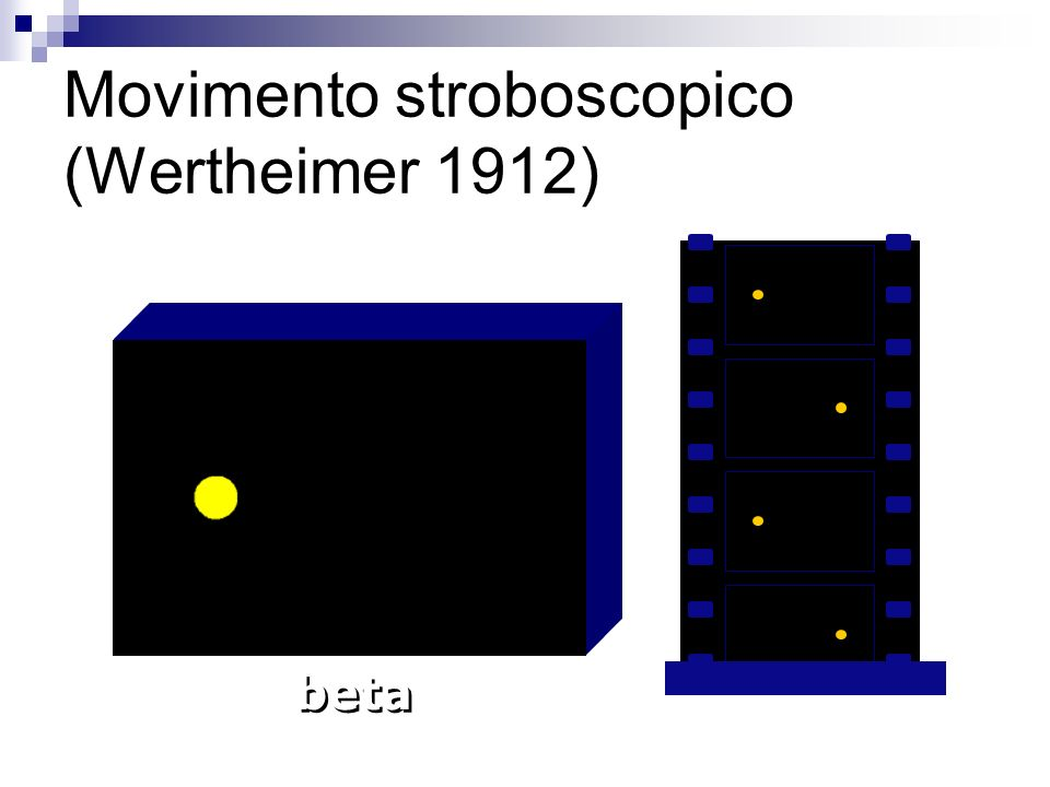 Movimento stroboscopico (Wertheimer 1912)