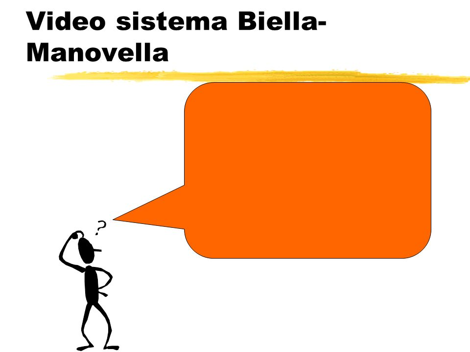 Video sistema Biella-Manovella