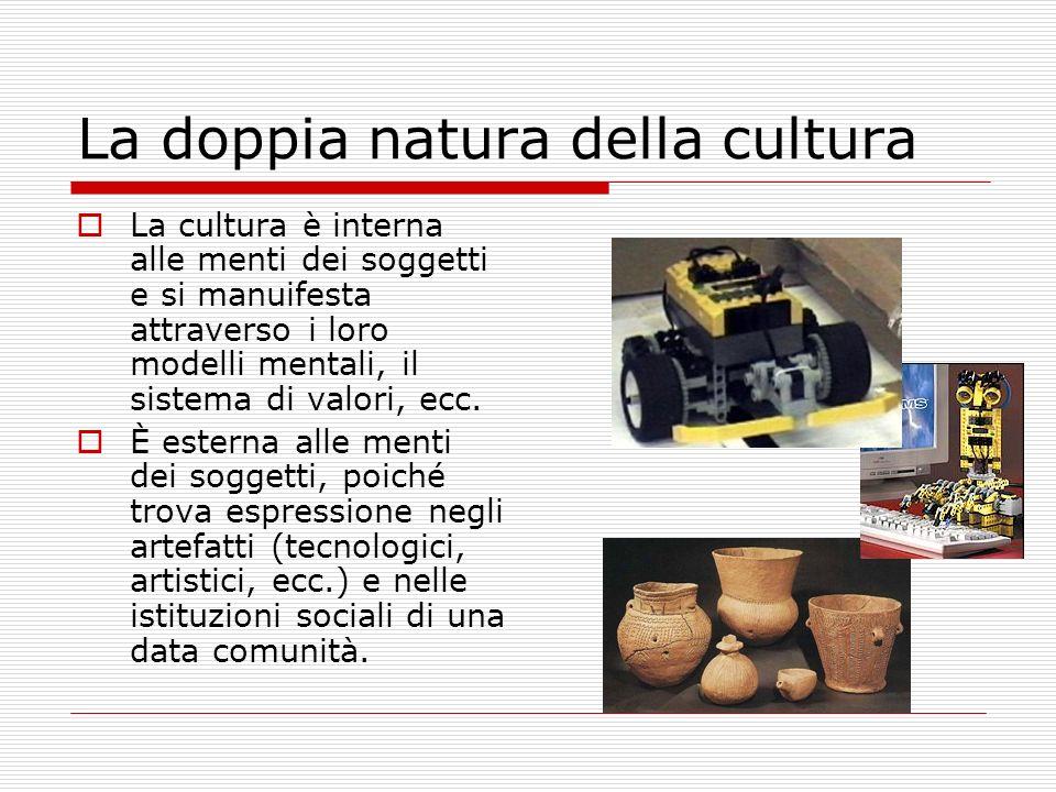 La doppia natura della cultura