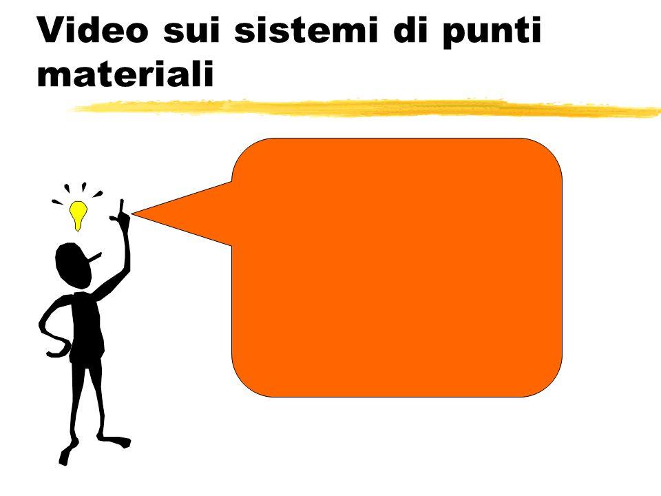 Video sui sistemi di punti materiali