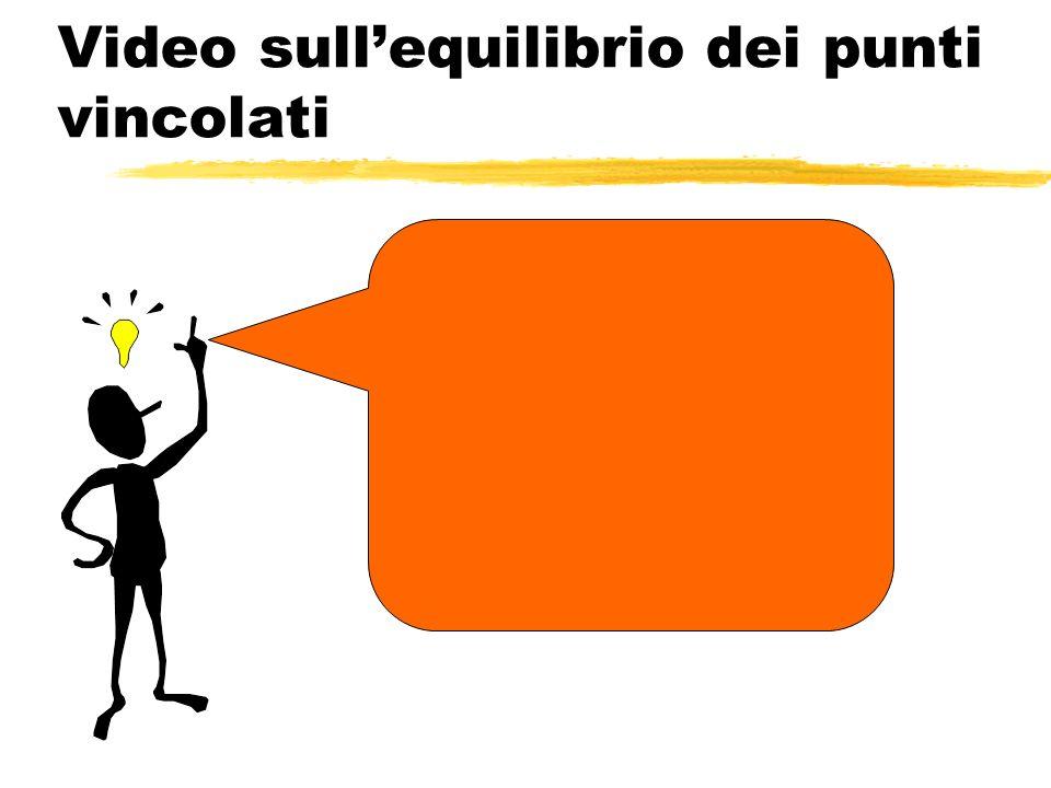 Video sull'equilibrio dei punti vincolati